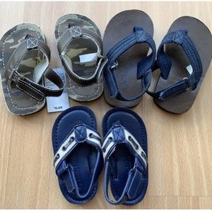 "Boy's ""Dressy"" Flip Flop Lot"